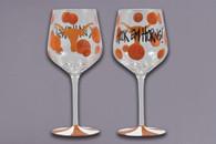 University of Texas Wine Glass