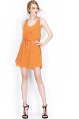 Multi-Strap Back Dress