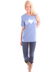 Royal Texas Love Tee