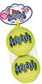 Air Kong Squeaker Lrg Squeaker Tennis Balls - 2pk