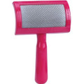 Frank's Soft Pink Universal Slicker Brush - Regular