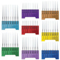 Wahl 5-1 Stainless Steel Snap On Comb Set of 8 (Fits 5-1 Blades)