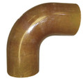 "10.00"" Fiberglass 90 degree Loose Elbow with SS Crush Sleeves"