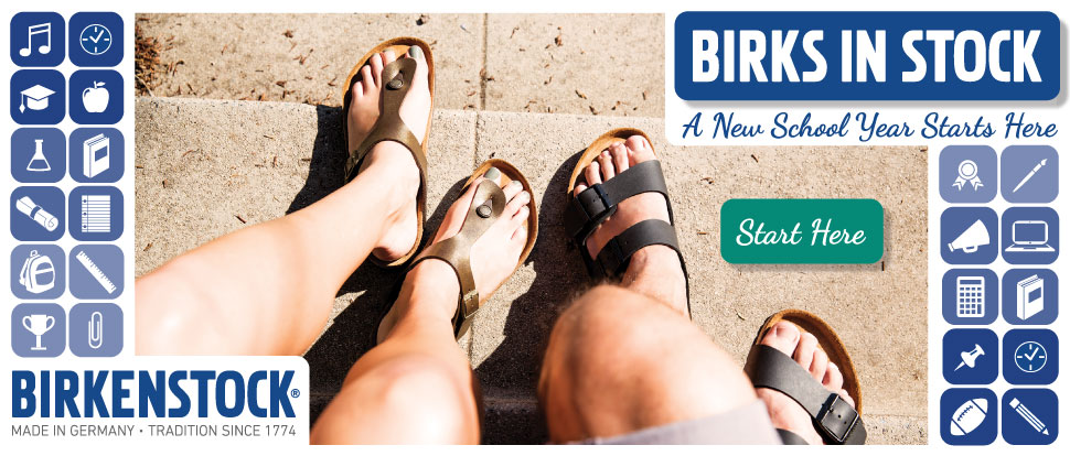 Birks in Stock - A new school year starts here!