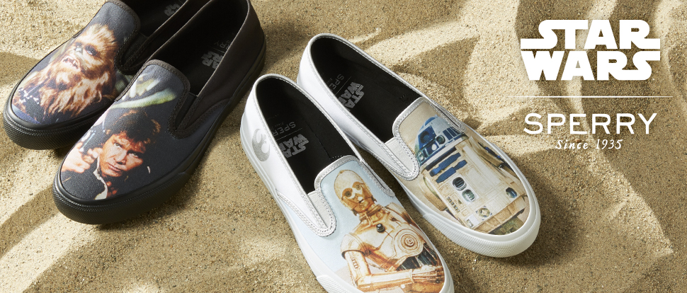Star Wars X Sperry collection - Now Available!