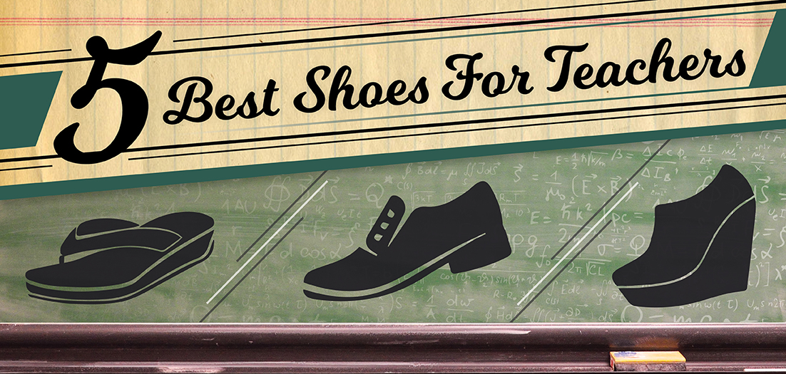 Five Best Shoes for Teachers Blog