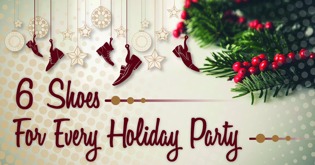6 Shoes for Every Holiday Party