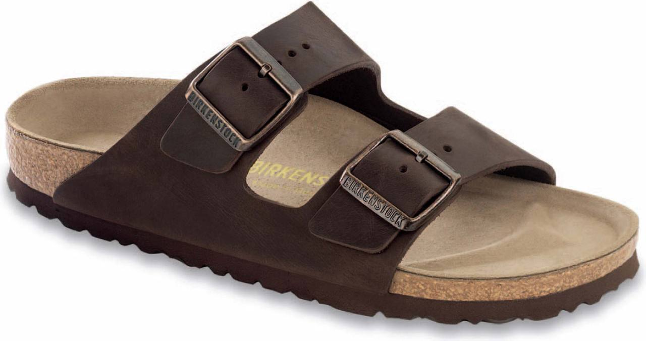Birkenstock Arizona Soft Footbed in Habana Oiled Leather