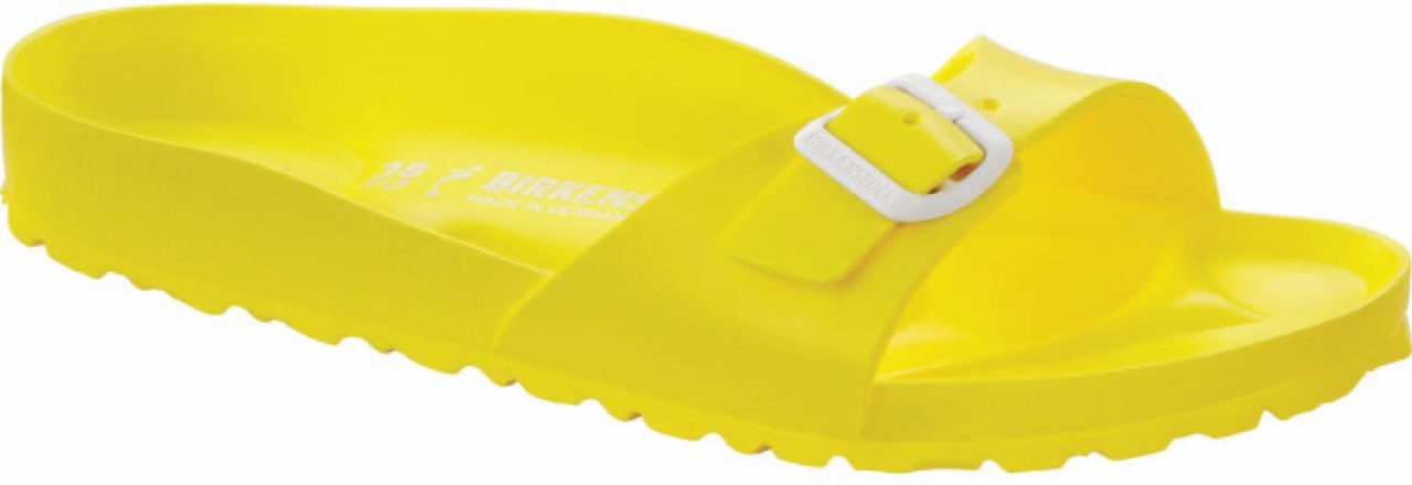 Birkenstock Madrid EVA in Yellow EVA