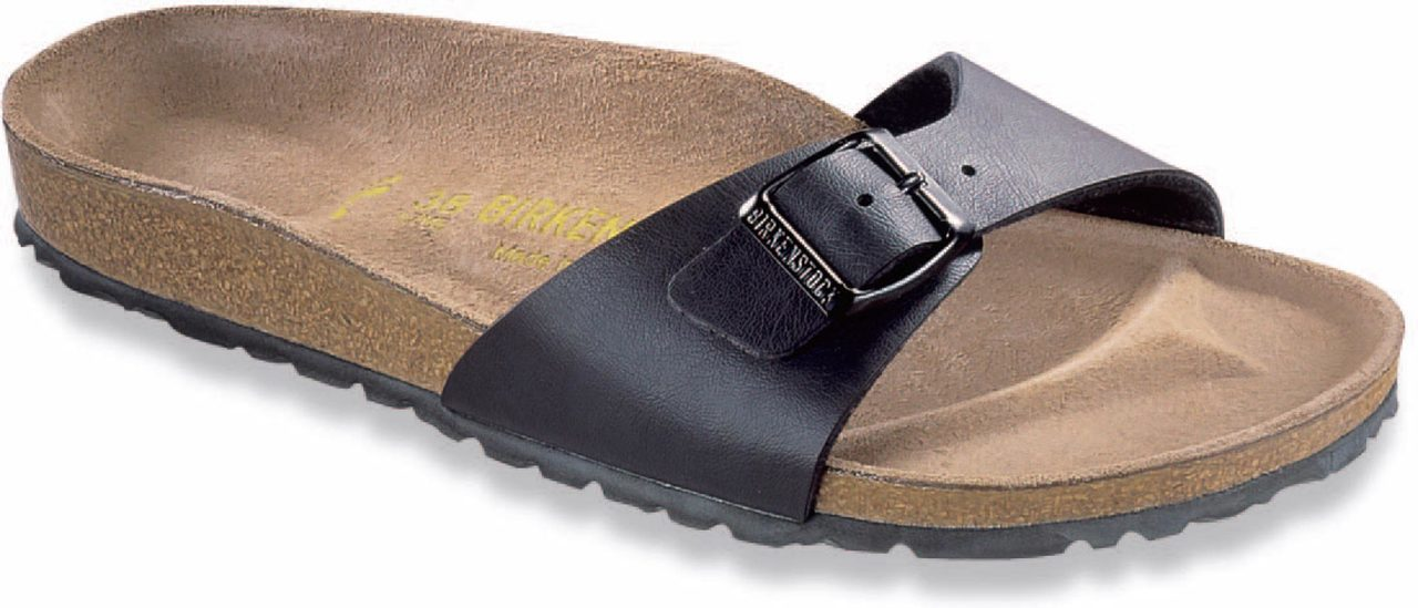 Birkenstock Women's Madrid in Black Birko-Flor