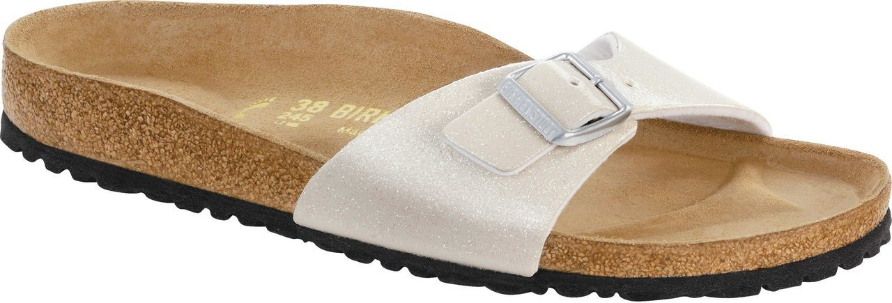 Birkenstock Women's Madrid in Magic Galaxy White Birko-Flor