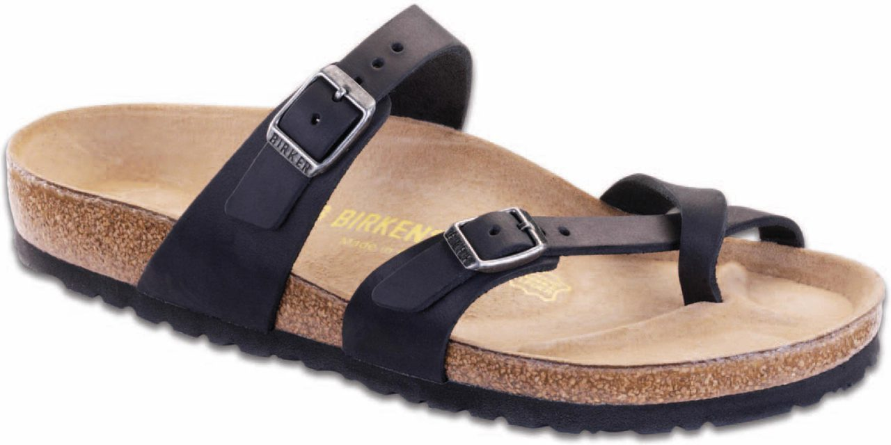 Birkenstock Women's Mayari in Black Oiled Leather