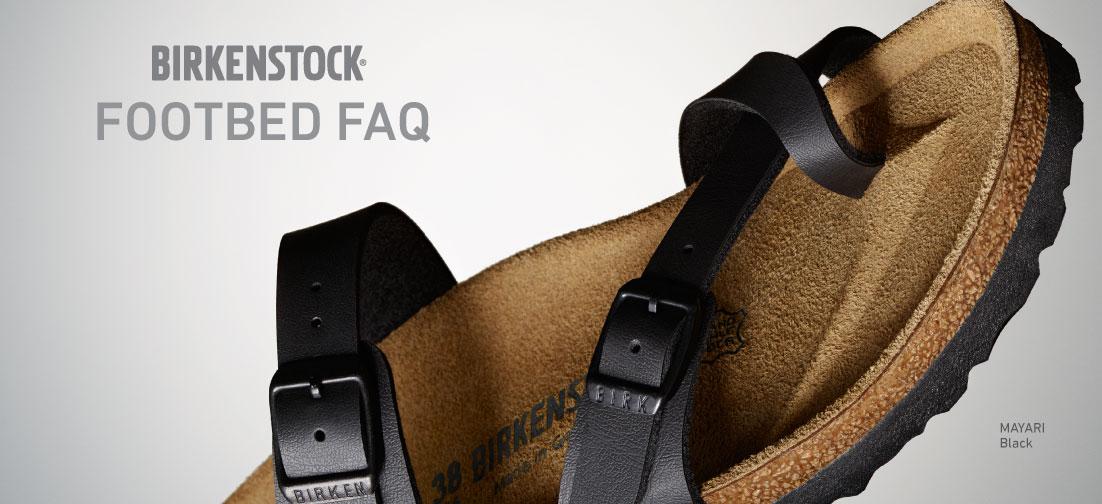 Birkenstock Footbed FAQ