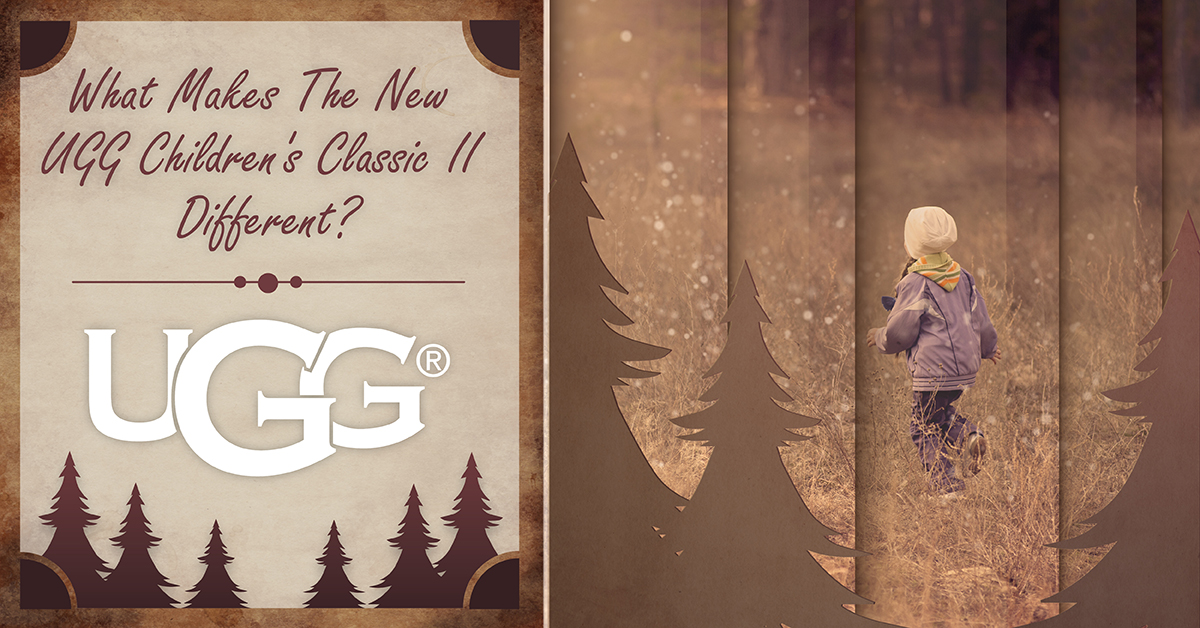 What's the Difference Between the UGG Children's Classic and the New UGG Children's Classic II?