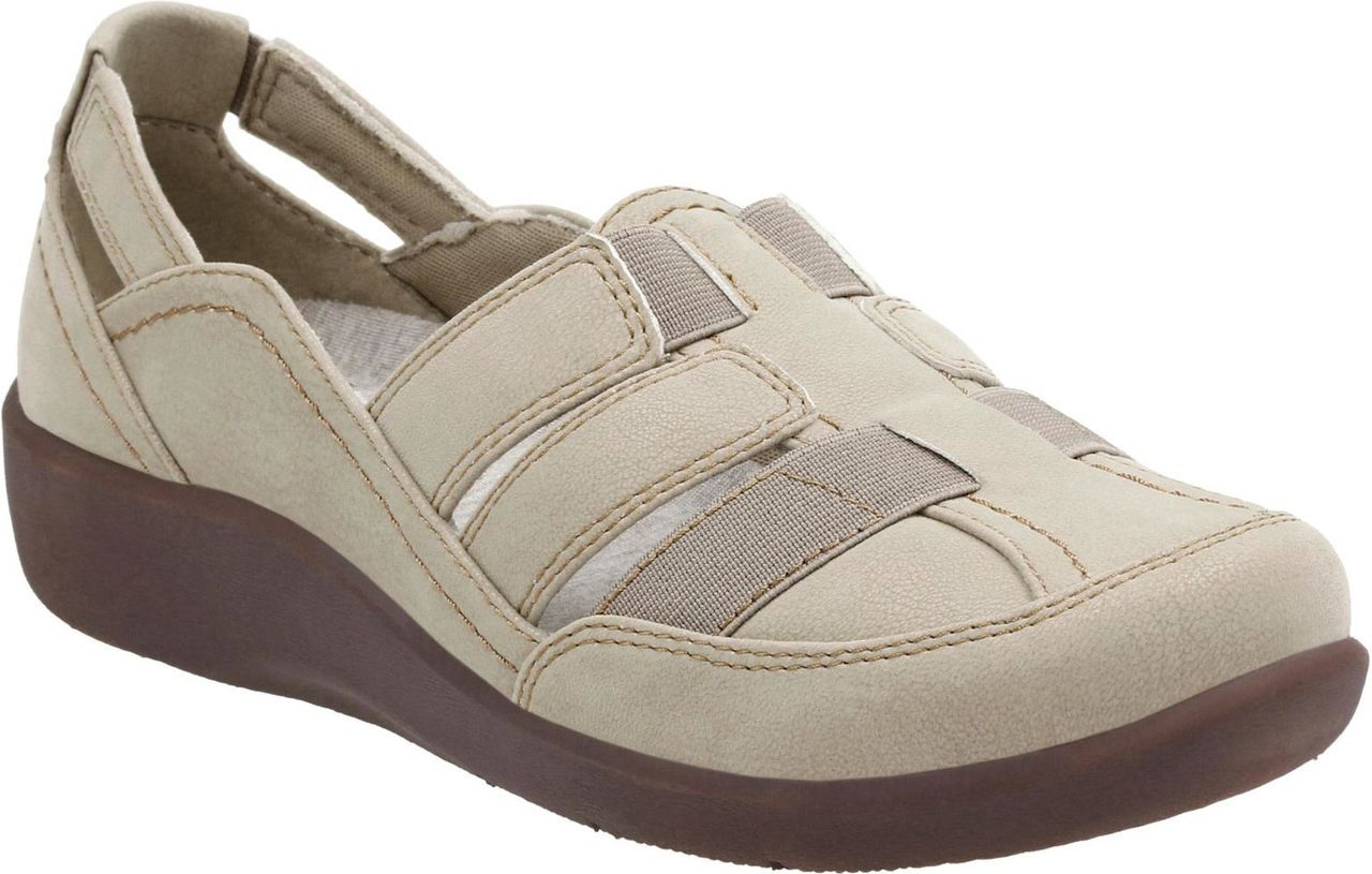 Clarks Sillian Stork in Sand Synthetic