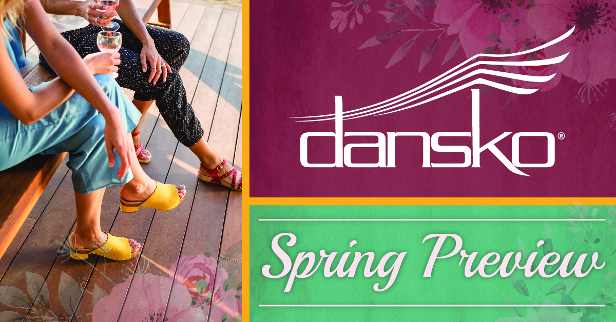Preview Dansko's New Spring 2018 Looks!