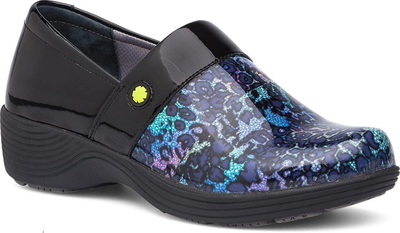 Work Wonders by Dansko Camellia in Multi-Leopard Patent