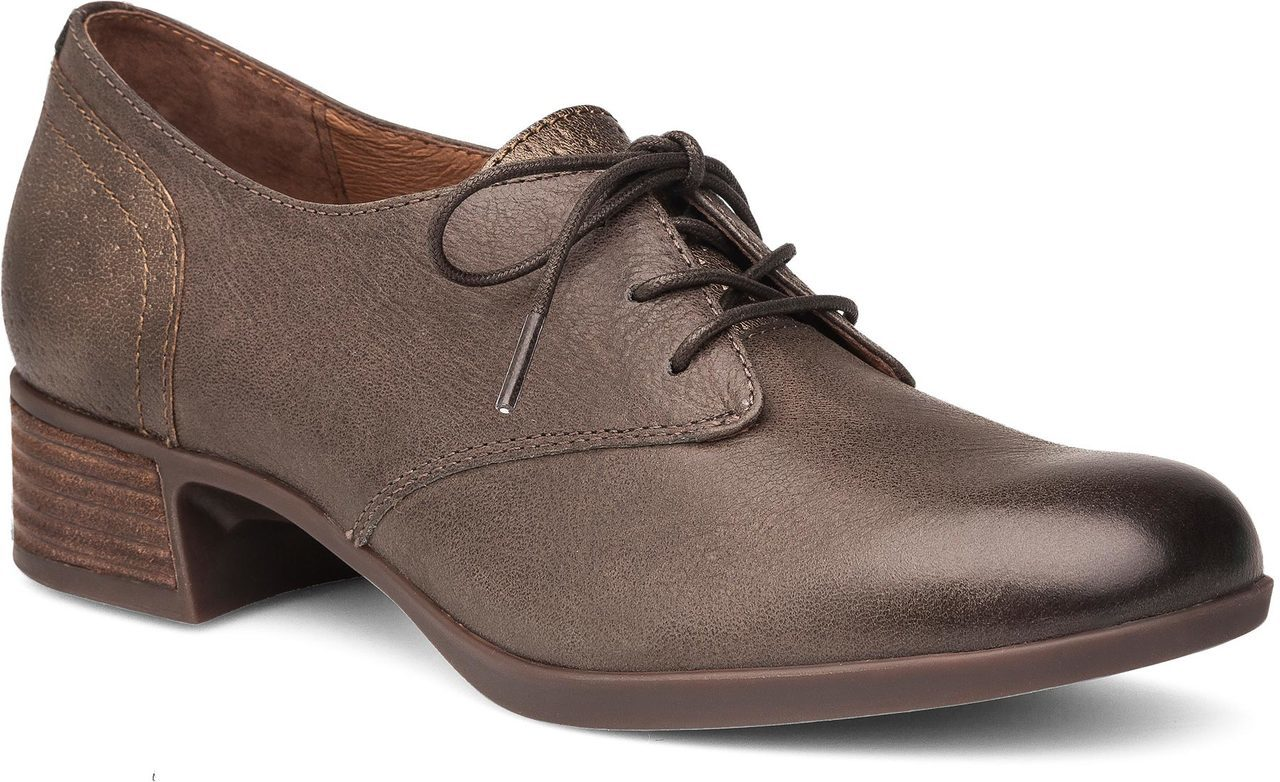 Dansko Louise in Stone Burnished Nappa
