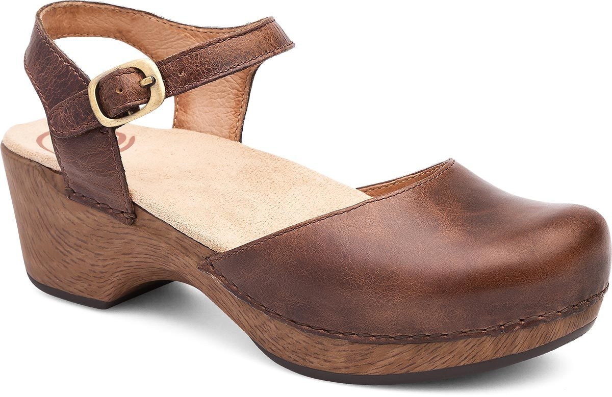 Dansko Sam in Teak Vintage Pull-Up