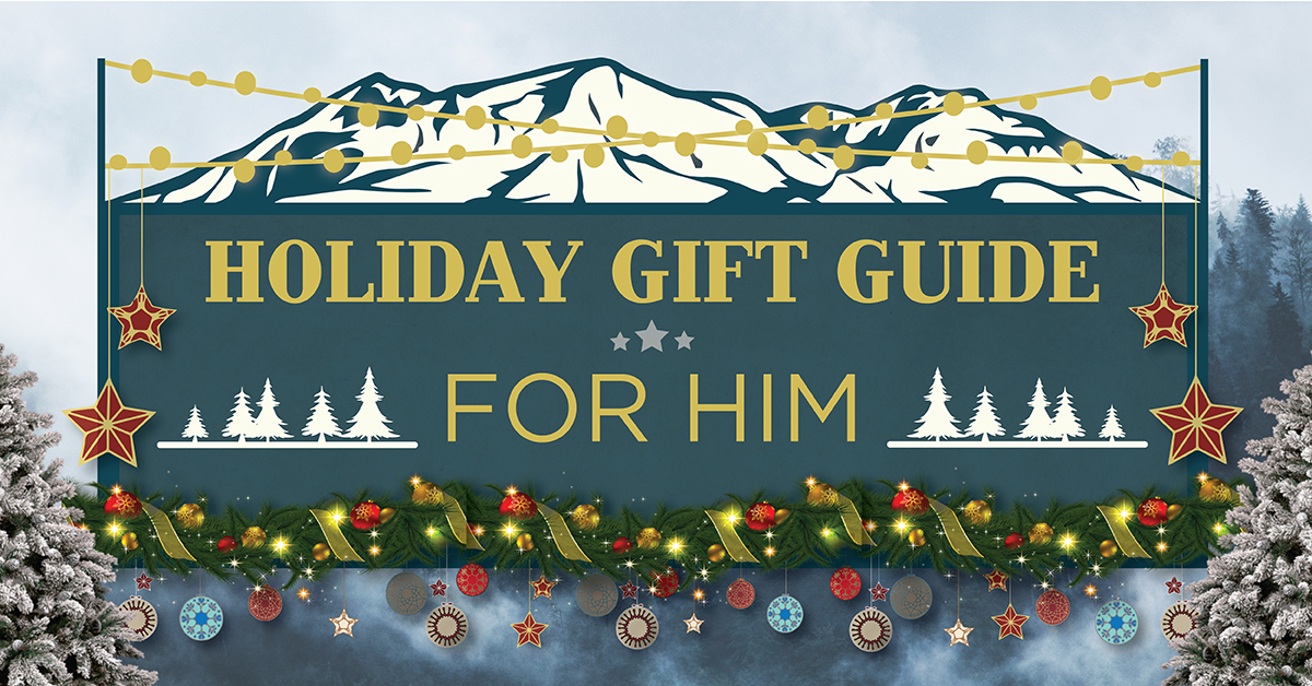 Holiday Gift Guide for Him 2017