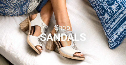 Shop summer shoes from your favorite brands including Birkenstock sandals, Naot sandals, UGG sandals, and more.