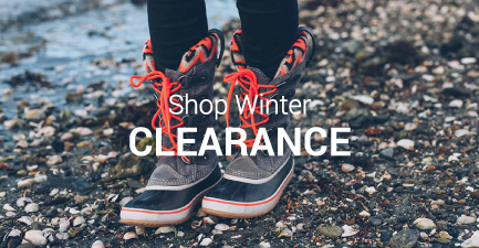 Our end-of-season shoe clearance will have you ready for next year! Shop winter clearance boots and shoes including UGG clearance, Sorel clearance, and more!