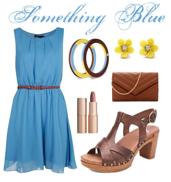 Something Blue feat. Dansko Daniela in Teak Vintage Pull Up