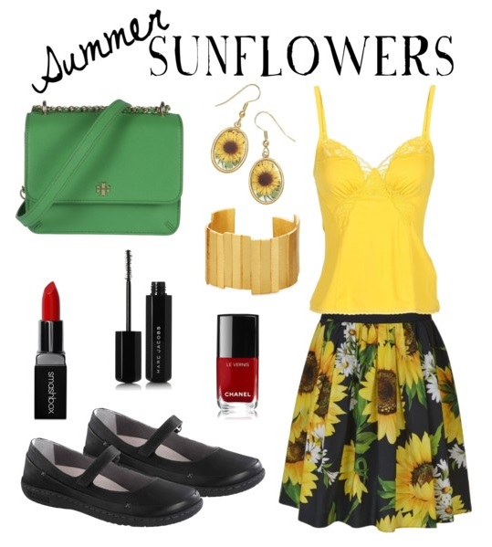 Summer Sunflowers feat. Birkenstock Iona in Black Leather