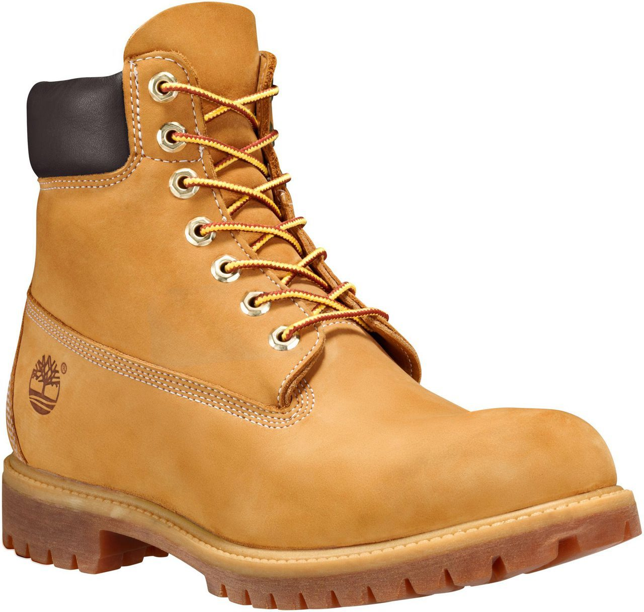 Timberland Men's 6-Inch Premium in Wheat Nubuck