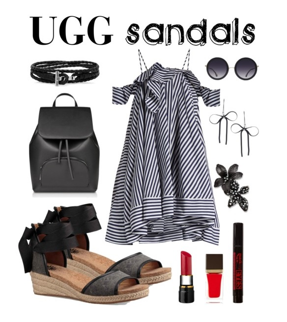 Sunny Day Style feat. UGG Amell in Black