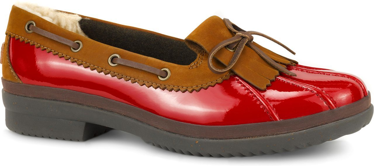 UGG Haylie in Red Patent