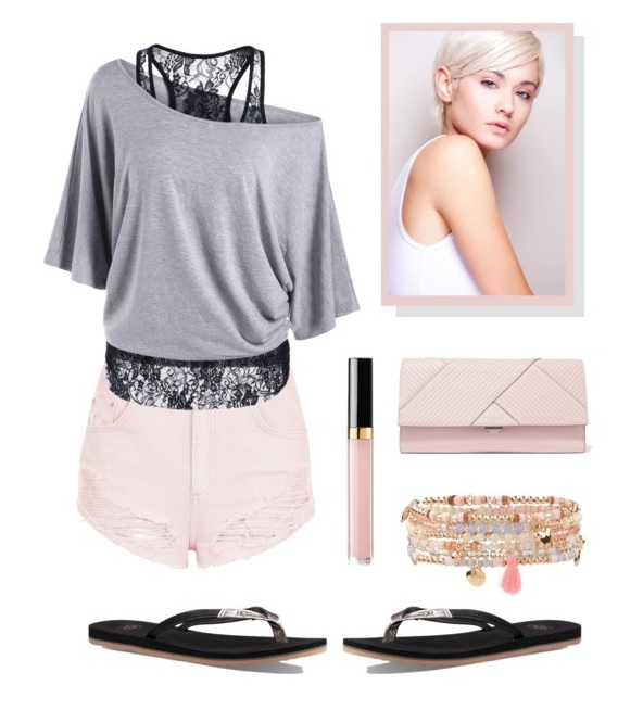 Precious Pink feat. UGG Magnolia in Black/Bronze