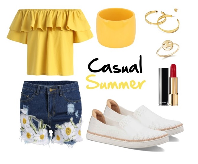 Casual Summer feat. UGG Sammy in White