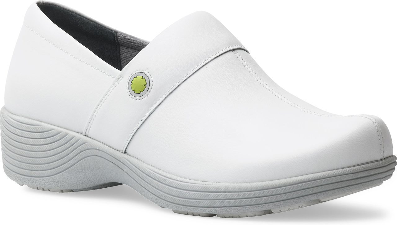 Work Wonders by Dansko Camellia in White Leather