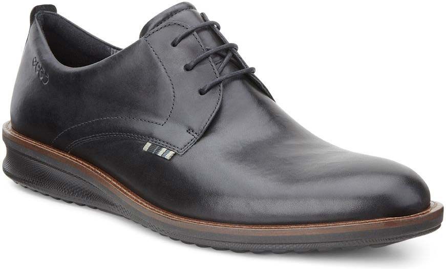 ... Dress Shoes · Oxfords; ECCO Men's Contoured Plain Toe Tie. Black
