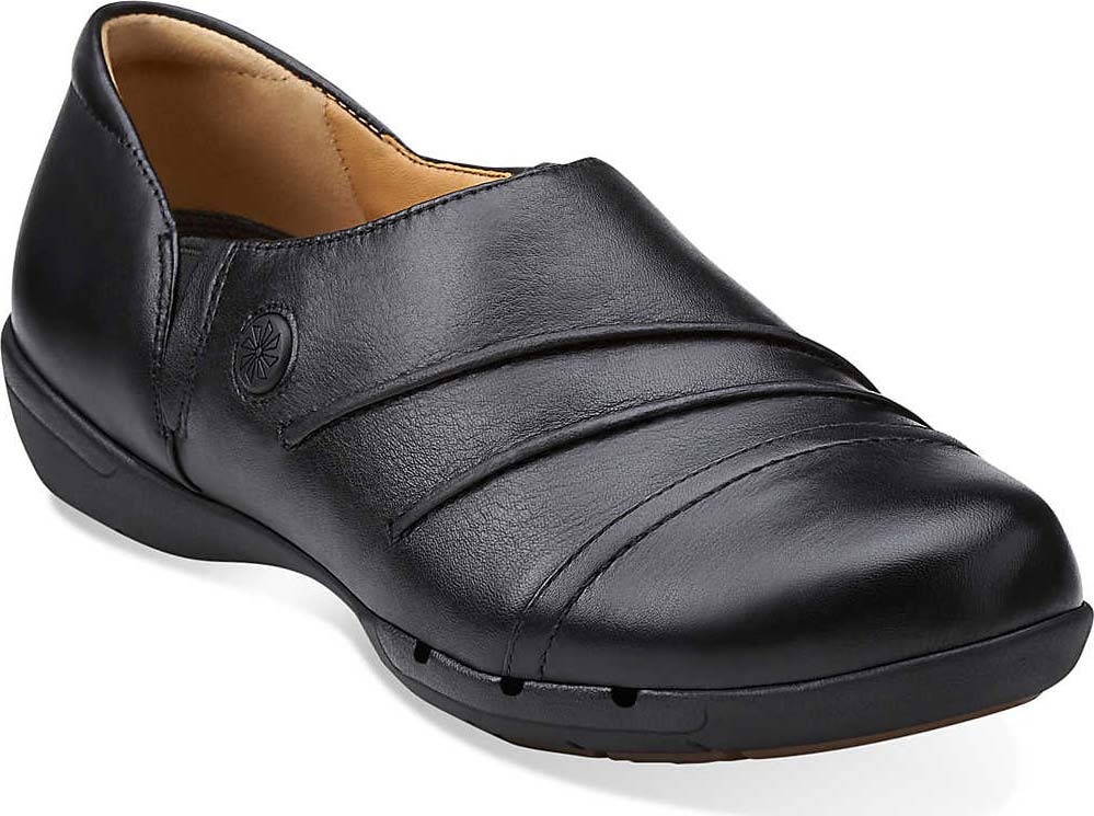 Womens Shoes Clarks Un.hila Black Leather