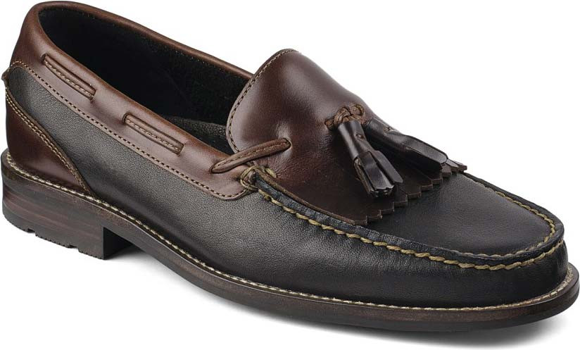 Sperry Top-Sider Black/Amaretto Essex Kiltie FUH697315