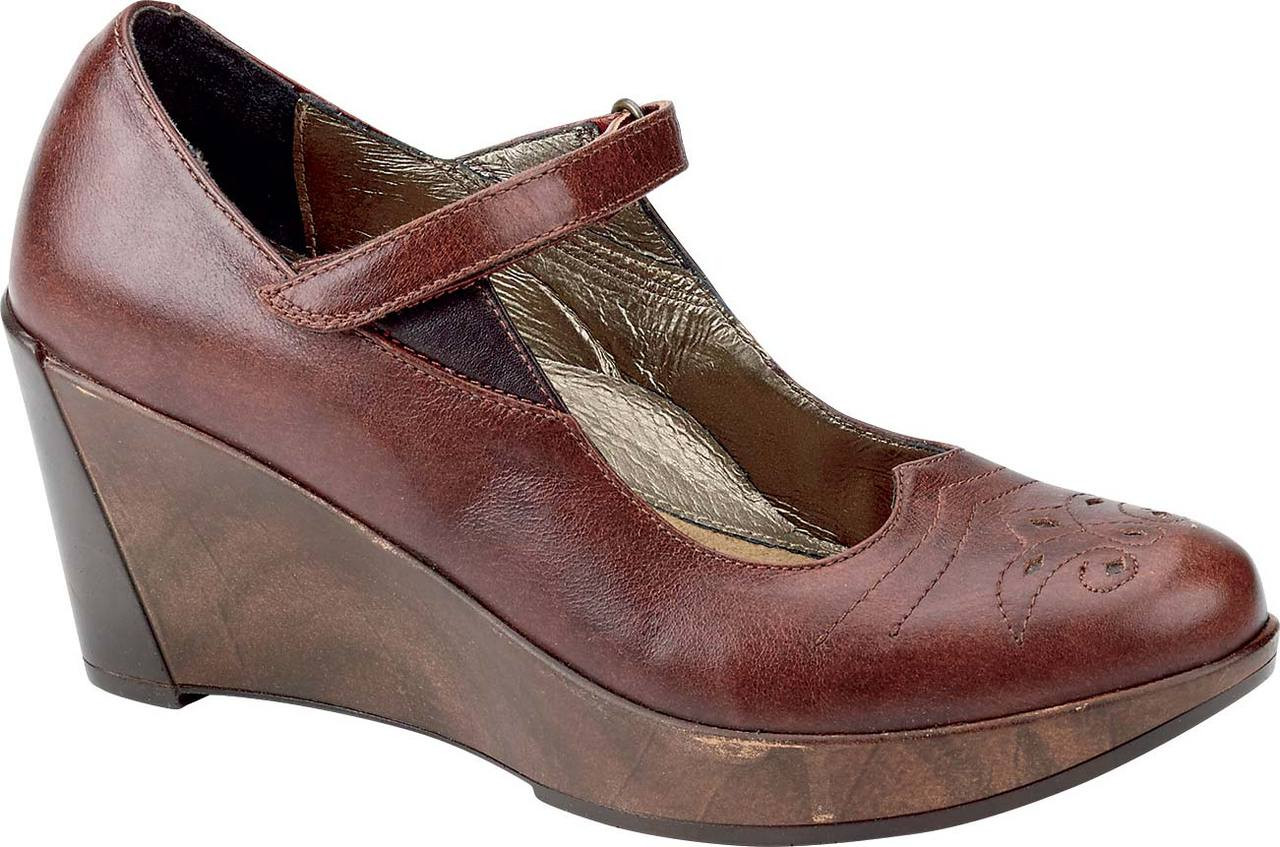 ... Mary Jane Shoes; Naot Alma. Luggage Brown/French Roast Leather