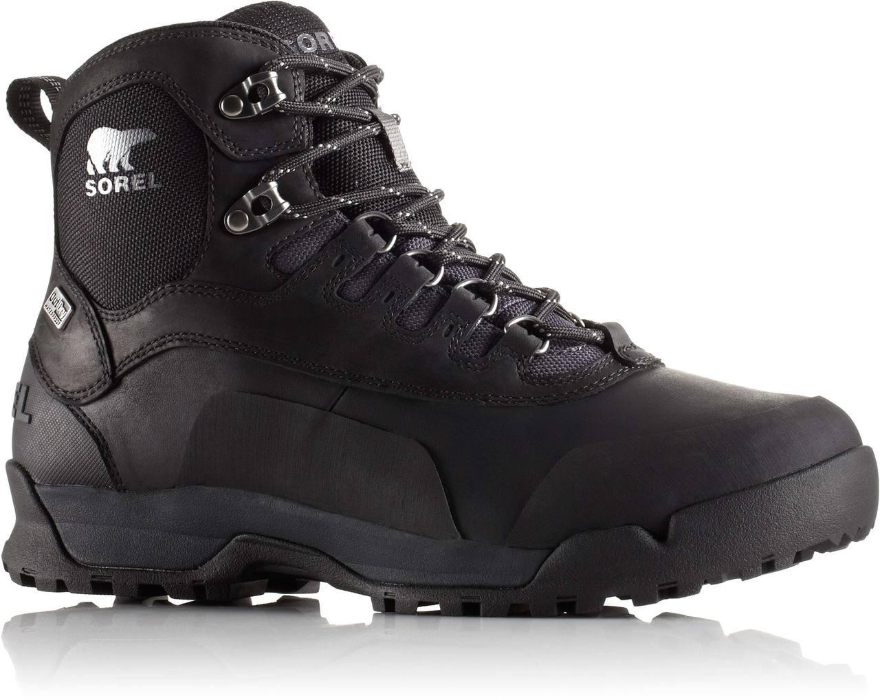 ... Ankle Boots; Sorel Men's Sorel Paxson OutDry. Black/Shark