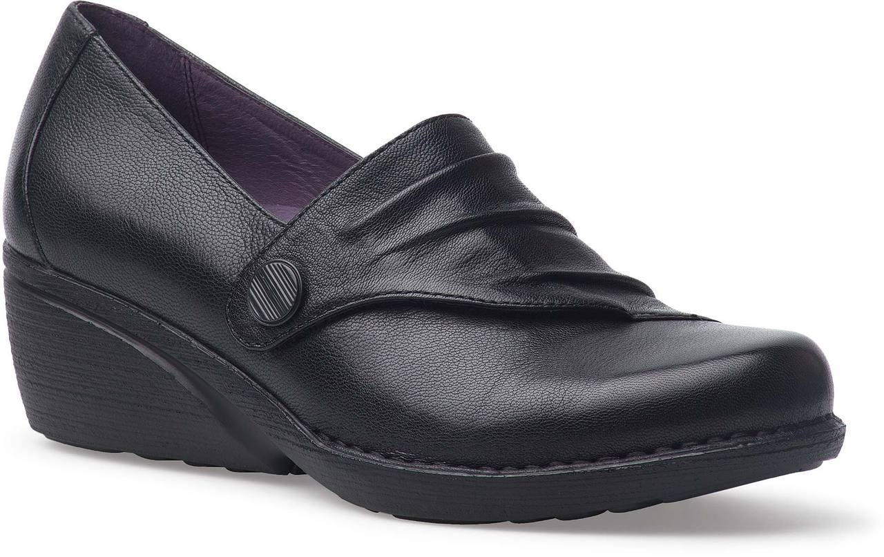 Home · Women's Clearance Shoes · Dress Shoes; Dansko Aimee. Black Nappa  Leather