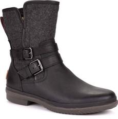 Black Leather/Textile