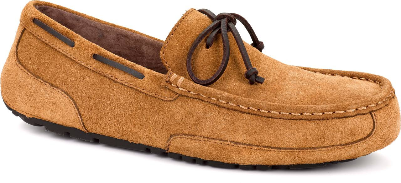 ... Slippers; UGG Australia Men's Chester Suede. Chestnut Suede
