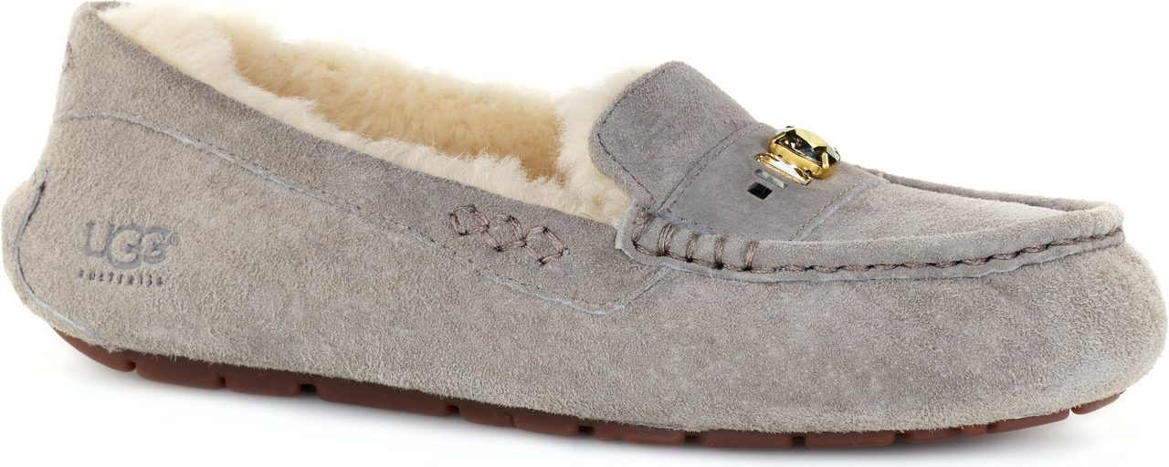 Home · Women's Clearance Shoes · Slippers; UGG Australia Women's Ansley  Chunky Crystals. Ash