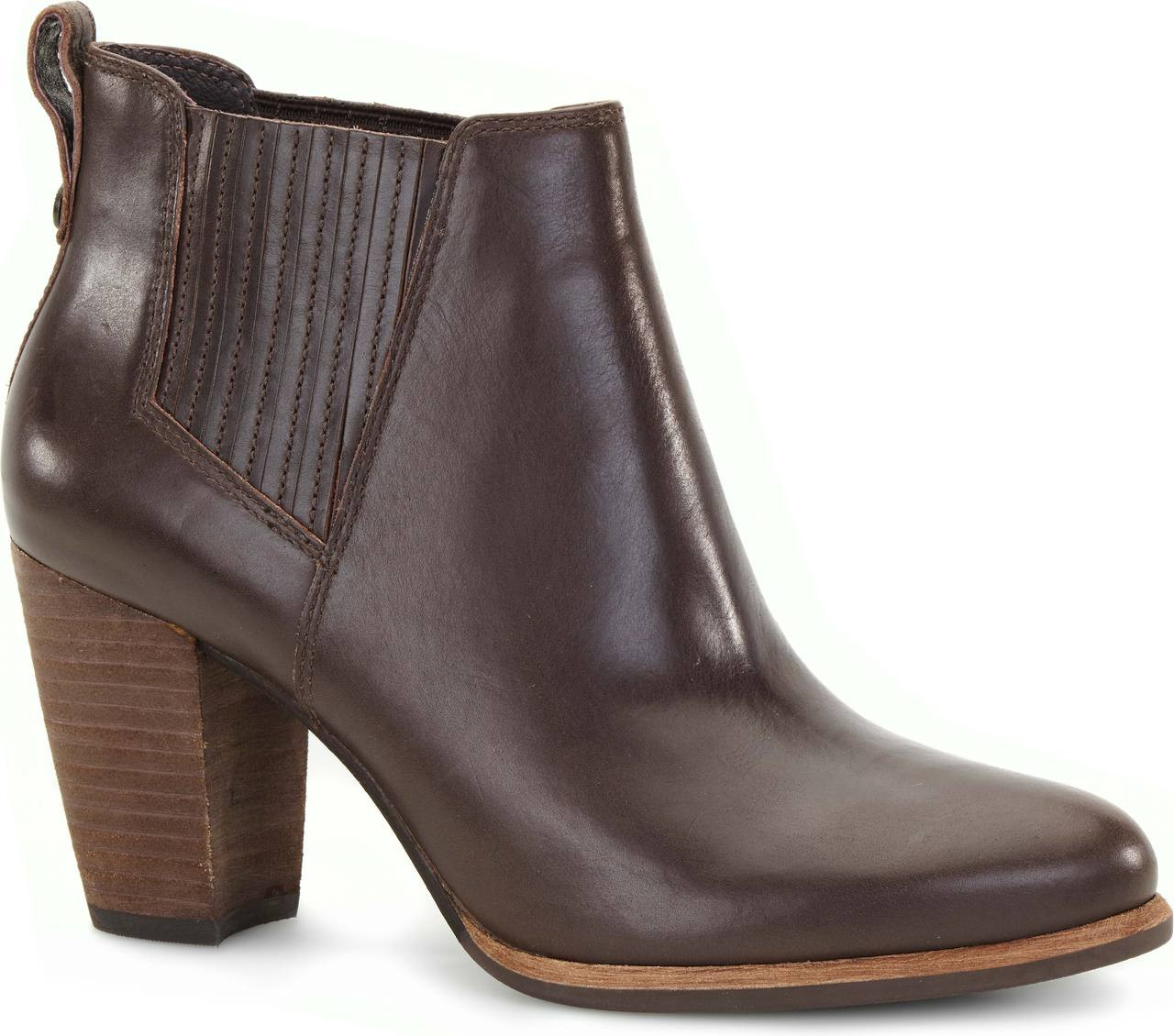 Womens Boots UGG Poppy Pinecone Leather