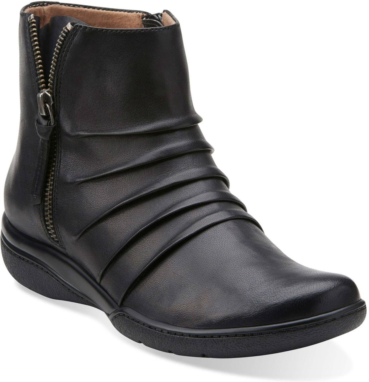 ... Boots; Clarks Women's Kearns Blush. Black Leather