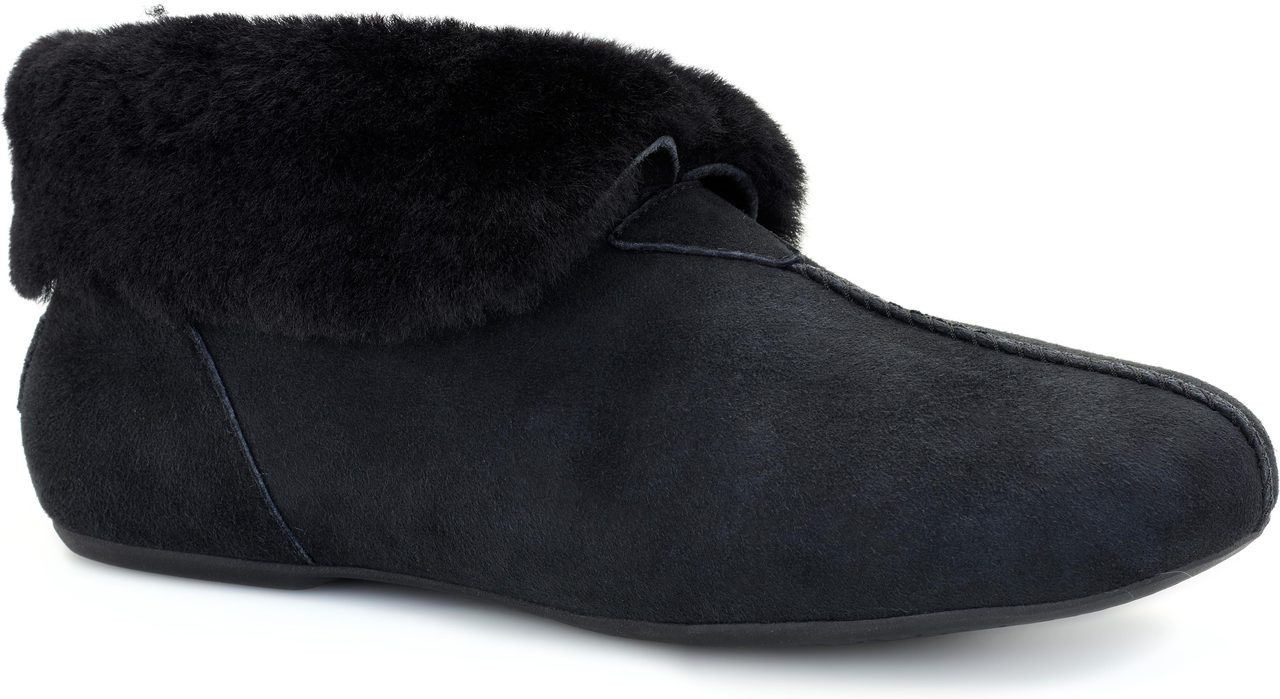 Womens Boots UGG Nerine Black Twinface/Suede