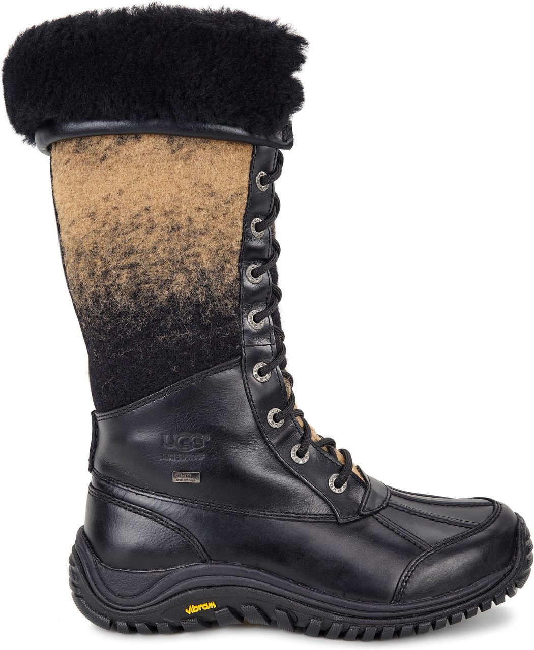 Ugg Adirondack Black Tall