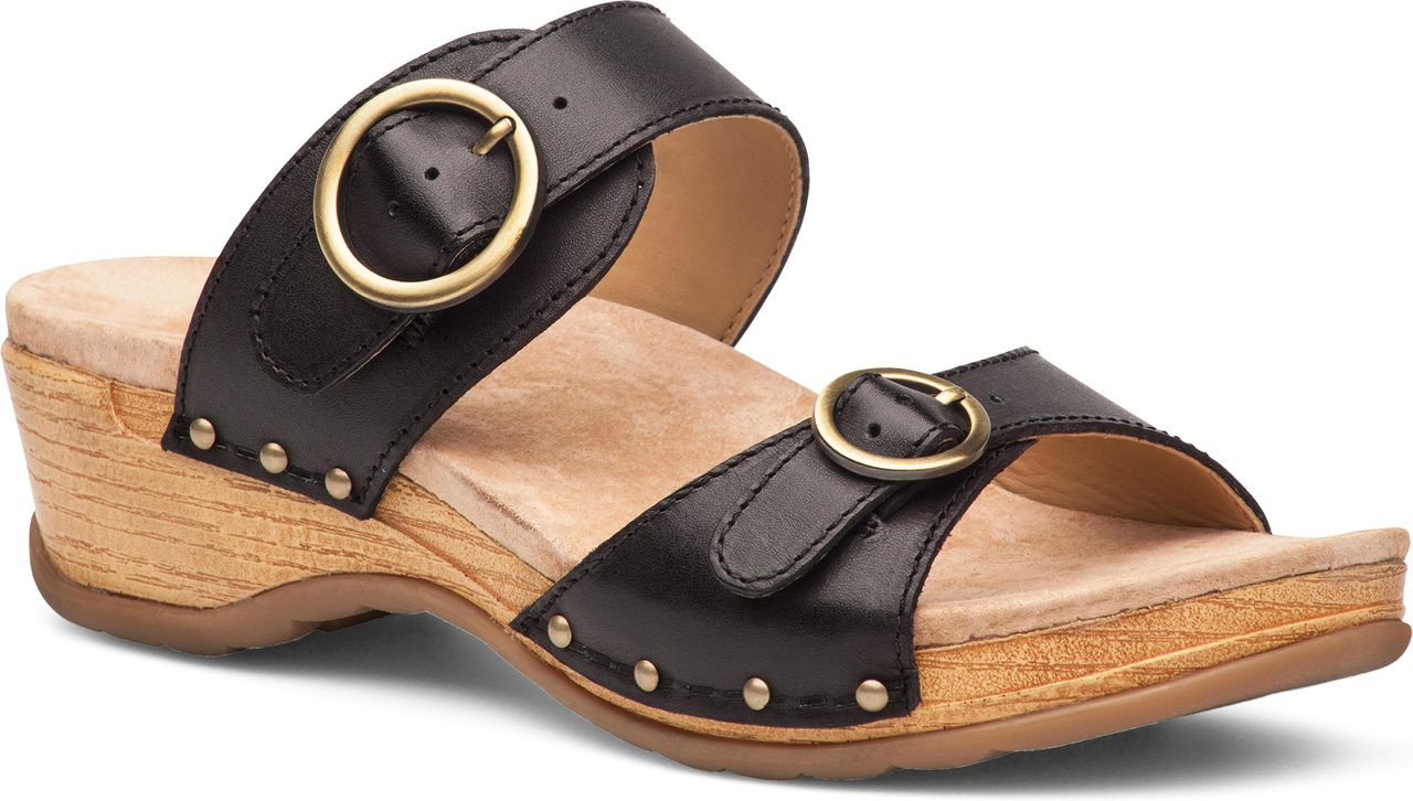 Home · Women's Clearance Shoes · Sandals; Dansko Manda. Berry Washed  Leather · Berry Washed Leather · Black Full Grain Leather ...