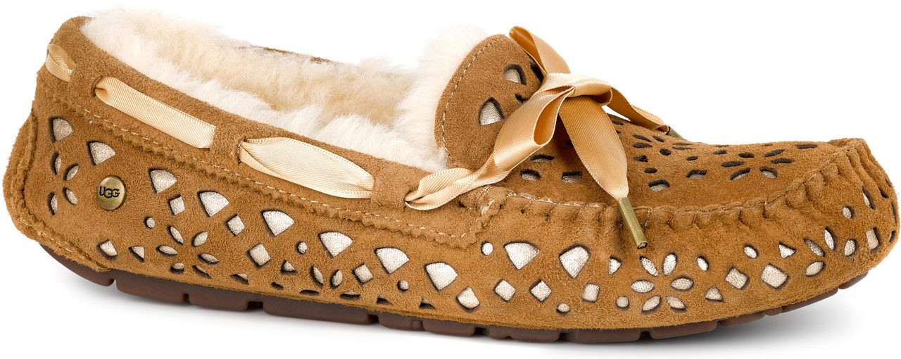 ... Other Casual Shoes; UGG Women's Dakota Flora Perf. Chestnut