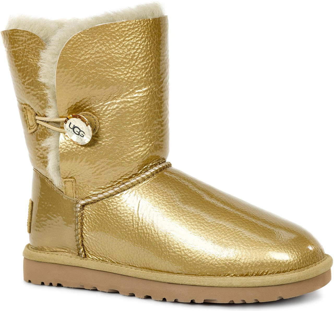 ... Casual Boots; UGG Women's Bailey Button Mirage. Soft Gold